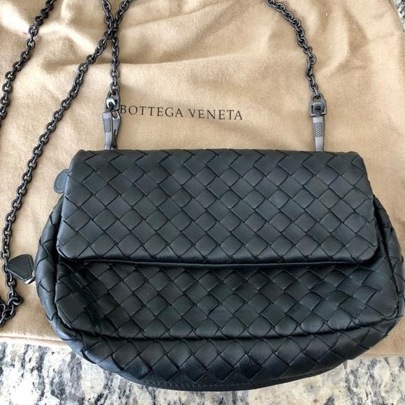 d21ff3dfc916e3 Bottega Veneta Bags | Black Small Chain Purse | Poshmark